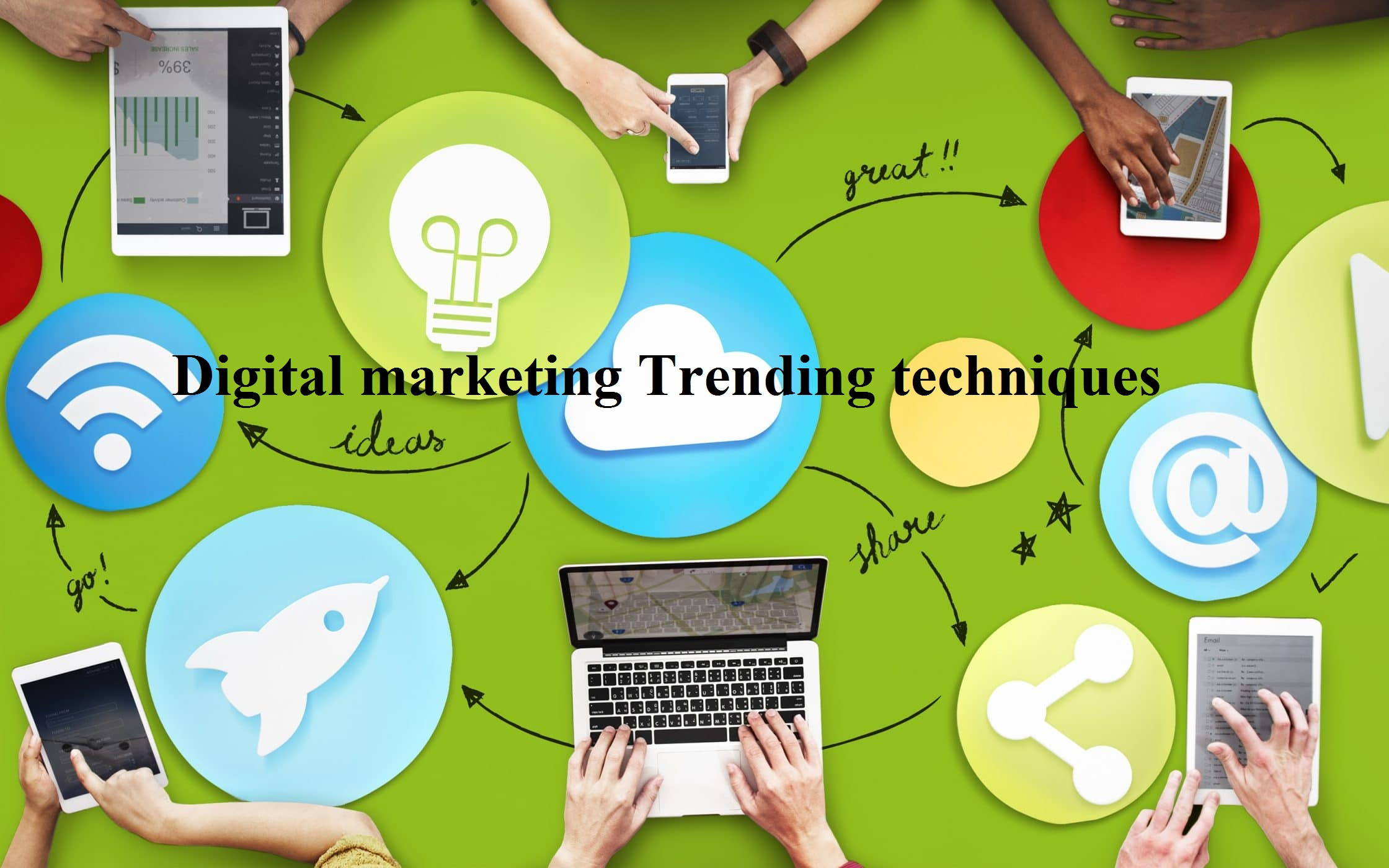 The prime rated digital marketing techniques according to Insights readers